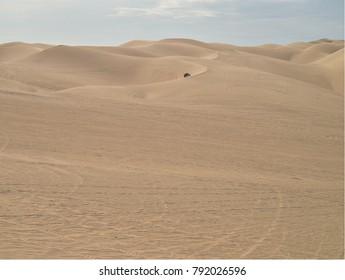 ATVs All Terrain Vehicles sand dunes Imperial Sand Dunes, California, USA