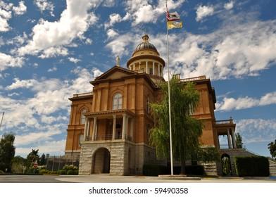 Auburn California Historic Landmark Courthouse in Placer County