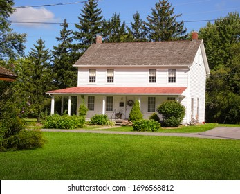 Auburn, New York/ United States of America- September 15, 2018: Harriet Tubman's home when she was an adult.