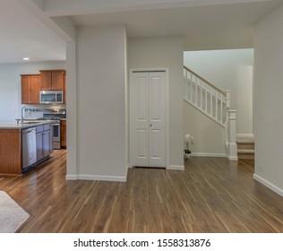 Auburn, WA / USA - Nov. 8, 2019: Modern residential interior
