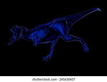Aucasaurus in blue 02
