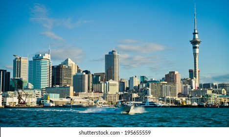Auckland City  by day
