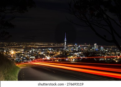 Auckland City from Mt Eden