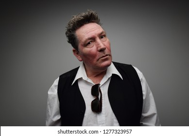 Auckland, New Zealand, 11/16/14, Graham Brazier, Singer for New Zealand Band Hello Sailor, Pauses for Thought.