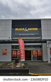 Auckland / New Zealand - April 11 2019: Rugs & More store in Manukau