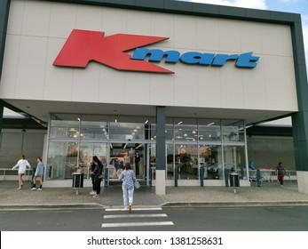 Auckland / New Zealand - April 26 2019: Kmart at Botany Downs offers toys, homeware, sporting & outdoor gear, home decoration