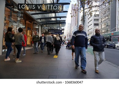 AUCKLAND, NEW ZEALAND - AUGUST 16 2017 - Auckland People in the streets - New Zealand is one of most young and happy country in the world