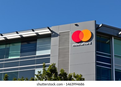 Auckland / New Zealand - July 28 2019: View of Mastercard office in Auckland Downtown
