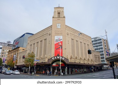 AUCKLAND, NEW ZEALAND - JUNE 09, 2015: the Civic Theatre