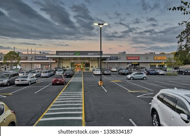 Auckland / New Zealand - March 14 2019: Countdown supermarket at Meadowlands Shopping Plaza