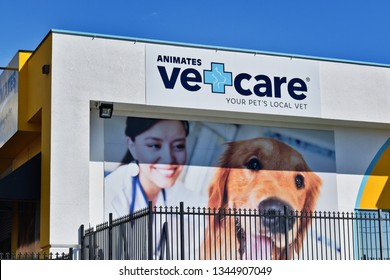 Auckland / New Zealand - March 21 2019: Animates Vetcare in East Tamaki