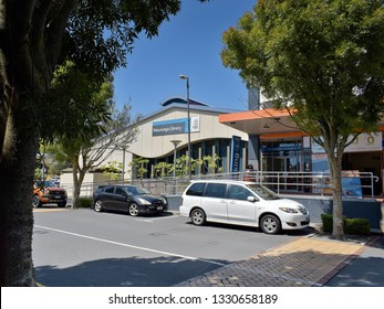 Auckland / New Zealand - March 6 2019: Pakuranga Library, Aylesbury Street