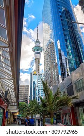 Auckland, New Zealand, Sky tower