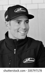 AUCKLAND - NOV 05 2015:V8 Supercars champion driver Scott Pye meet Motorsport fans in Auckland, New Zealand.