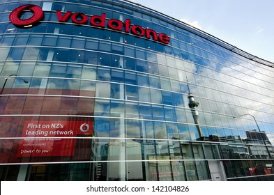 AUCKLAND, NZ - JUNE 02:Vodafone headquarters in Auckland on June 02 2013.It's New Zealand's largest mobile phone operator that investing millions of dollars in its new 4G network.
