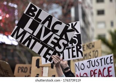 Aucklands black lives matter protest