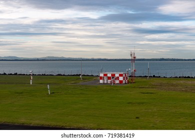 Aucland airport airstrip view