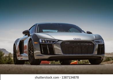Audi R8 photoshoot on 21 April 2019 in El Paso, Texas.