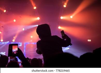Audiance concert show