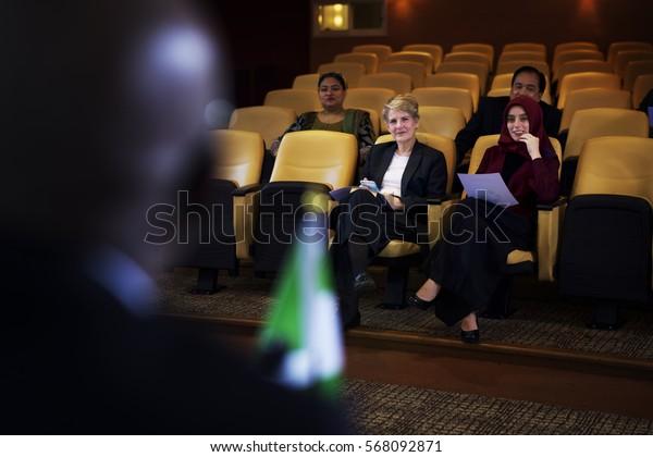 Audience Listen Presentation International Conference