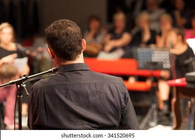 audience at the seminar