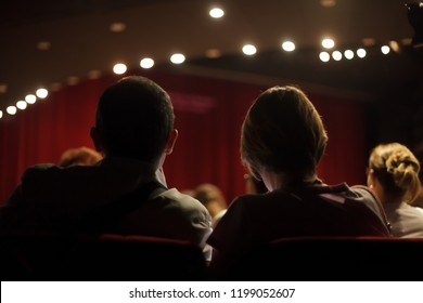 audience at theater play