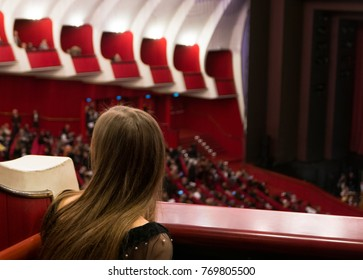 audience watching opera theater play