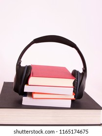 audio books, with copy-space