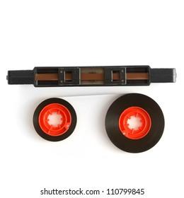 Audio cassette mechanism