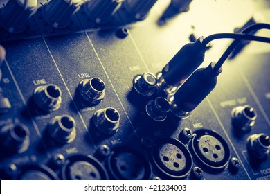 audio mixer, music equipment