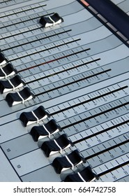 audio or Music mixing console