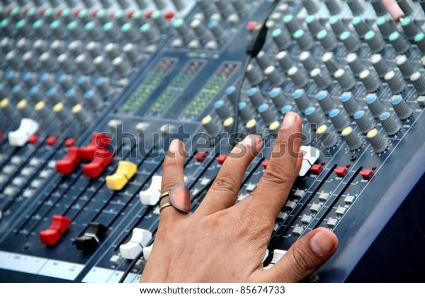 Audio Sound Mixing