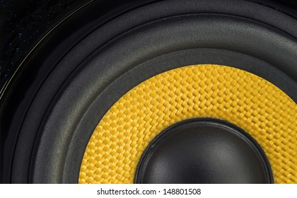 Audio Speaker Cone Detail Background Photo