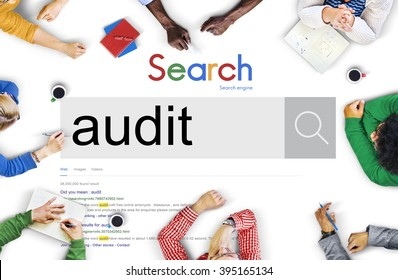 Audit Financial Investigation Check Concept