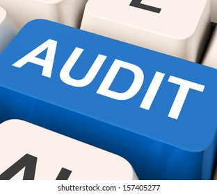Audit Key Showing Auditor Validation Or Inspection