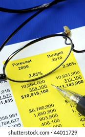 Audit the proposed financial statement for a homeowner association or condo