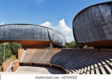 Auditorium Parco della Musica, designed by Italian architect Renzo Piano, Rome, Italy