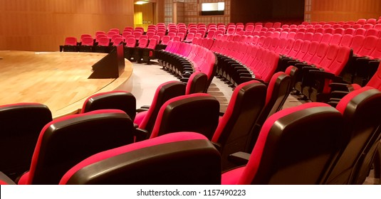 auditorium and red seats