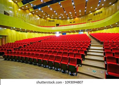 The auditorium seats