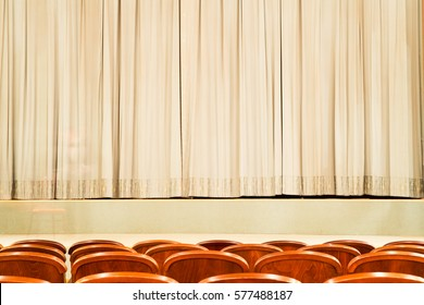 AUDITORIUM, THEATRE STAGE, CINEMA BACKGROUND