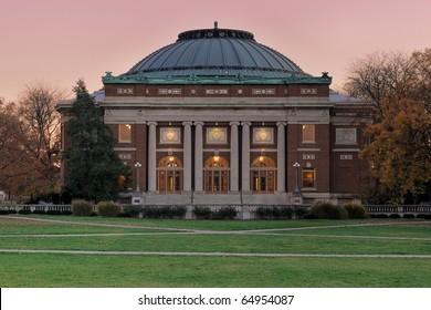 Auditorium at the University of Illinois at Urbana-Champaign