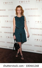 "Audrey Marnay at the Premiere Of Focus Features' ""Somewhere,"" Arclight Theater, Hollywod, CA. 12-07-10"