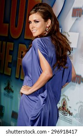 Audrina Patridge at the Los Angeles premiere of 'Into The Blue 2: The Reef' held at the Beverly Hilton Hotel in Beverly Hills on April 14, 2009.