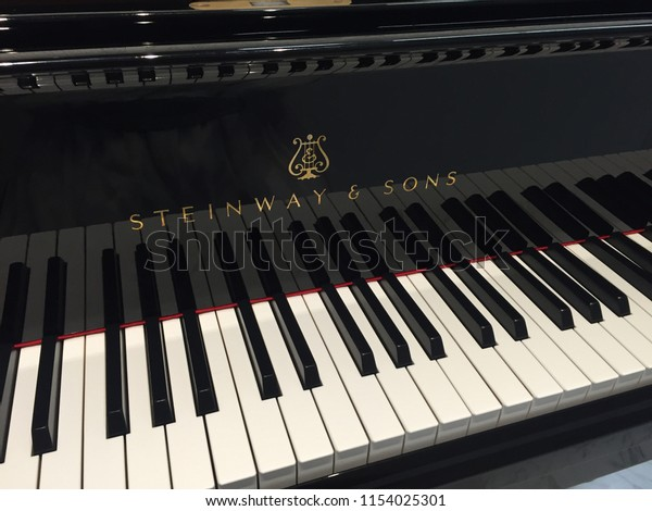 Aug 2018 Tokyo Japan Keys Steinway Stock Photo (Edit Now) 1154025301
