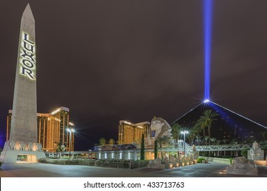 AUG 5, Las Vegas: The famous Luxor Hotel & Casino on AUG 5, 2015 at Las Vegas, Nevada