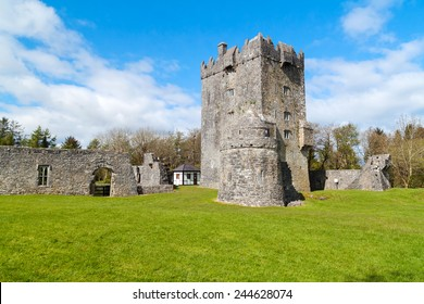 Aughnanure Castle in Co. Galway, Ireland
