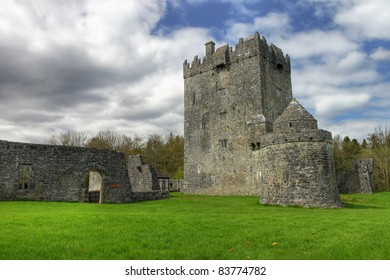 Aughnanure Castle in Co. Galway, Ireland.
