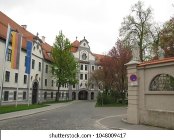 Augsburg - old and beautiful bavarian city in Swabia, Bavaria, Germany. It was a Free Imperial City for over 500 years, and is notable for the Augsburg Confession.