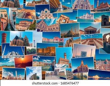 Travel Collages Images Stock Photos Vectors Shutterstock