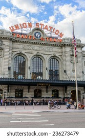 August 1, 2014: New addition to historical Union Station in downtown Denver Colorado
